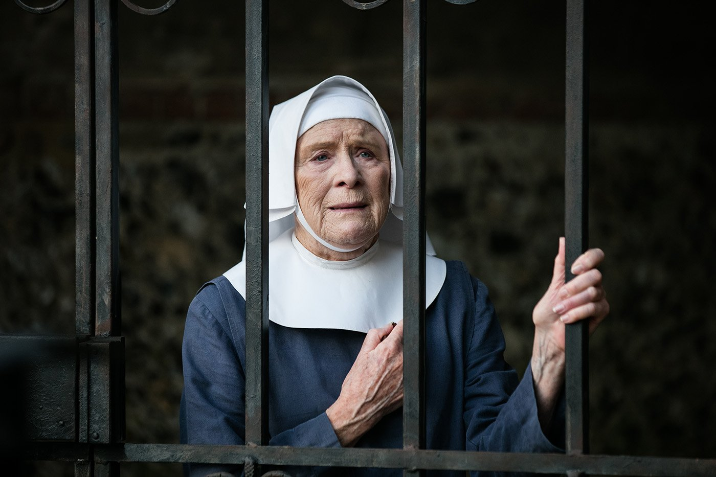 Judy Parfitt as Sister Monica Joan in 'Call the Midwife.' Photo: Neal Street Productions 2016