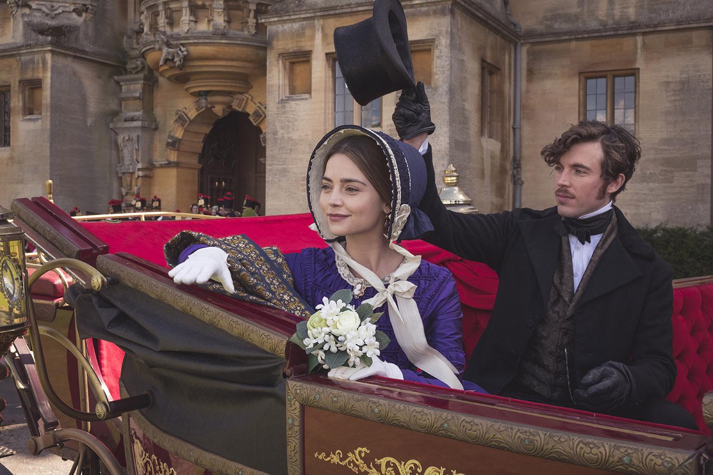 Queen Victoria and Prince Albert. Photo: ITV Studios