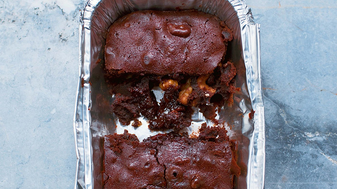 Emergency Brownies from Nigella Lawson