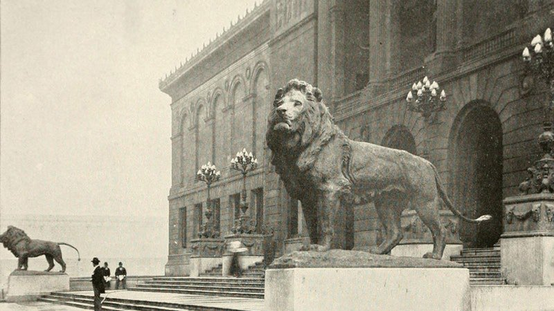The Story of the Art Institute's Iconic Lions