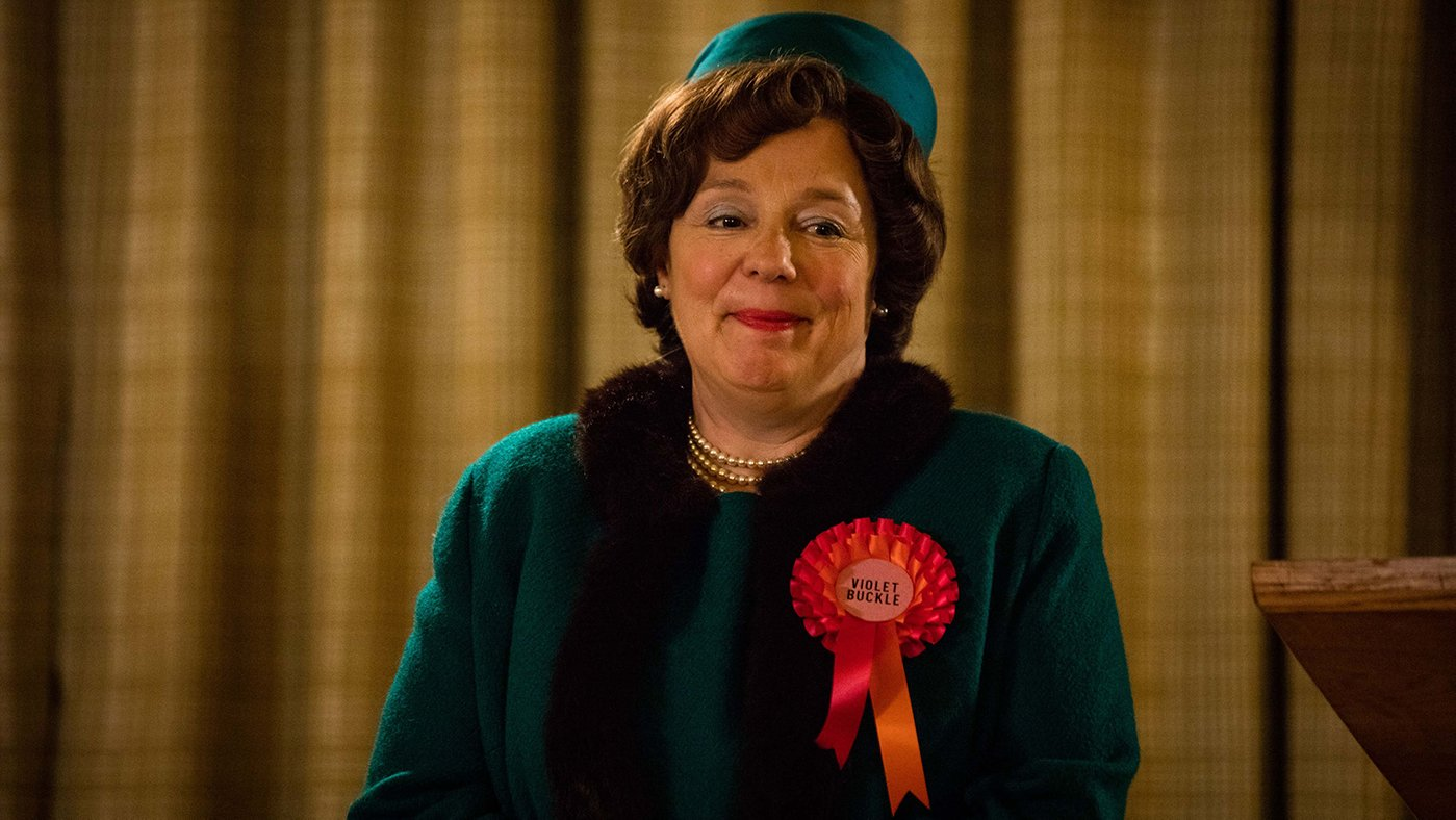 Violet Buckle in Call the Midwife. Photo: BBC/Neal Street Productions