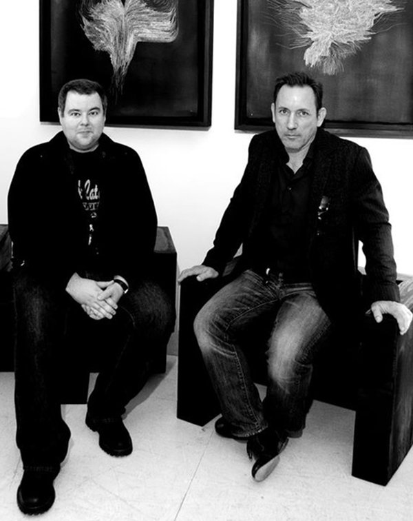 Frank Catalano and Jimmy Chamberlin