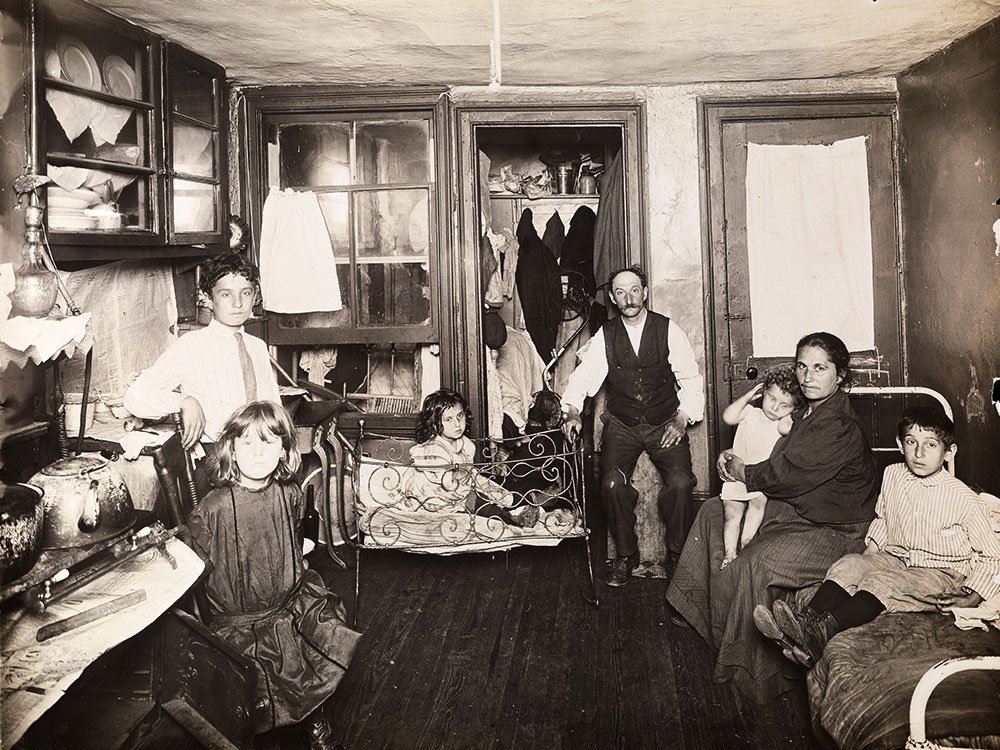 Jacob Riis tenement photo (credit Museum of the City of New York)
