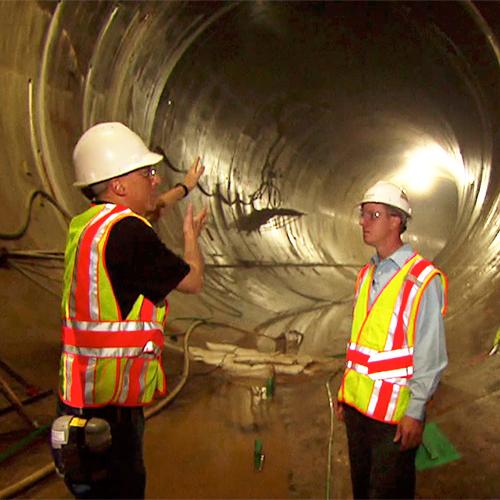 Inside Deep Tunnel
