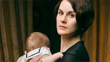 Lady Mary and baby