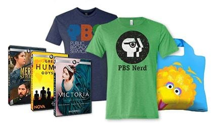 15% Off PBS DVDs and Gifts