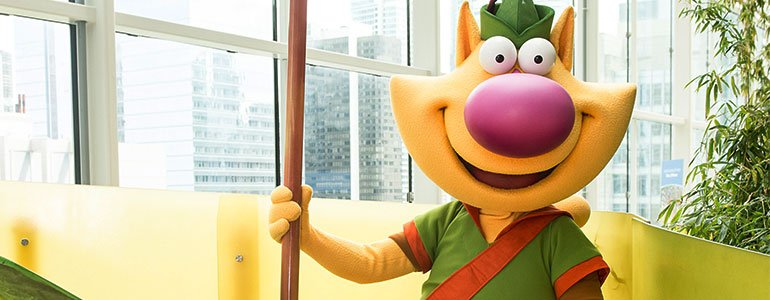 Meet Nature Cat At Party For The Preserves Wttw Chicago
