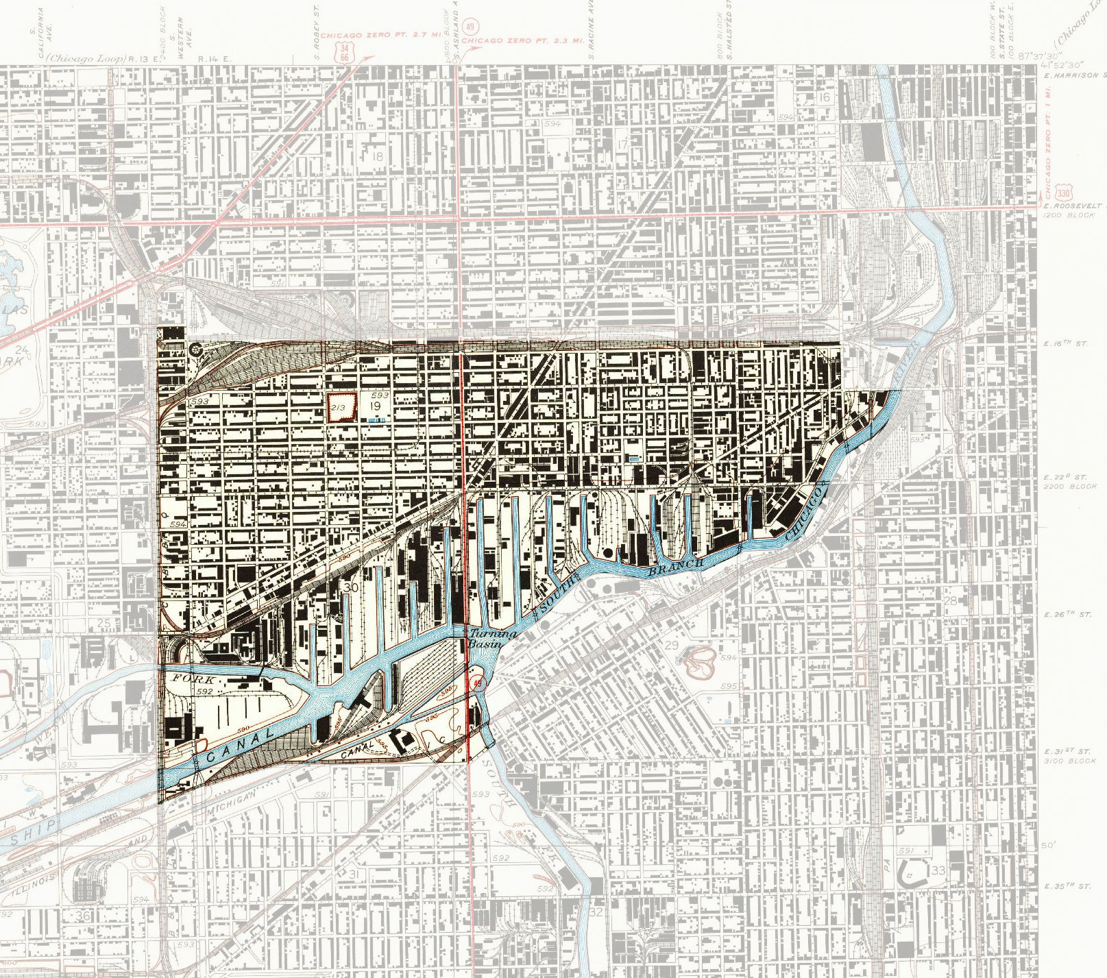 My Neighborhood Pilsen WTTW Chicago Public Media Television - Chicago neighborhood map art