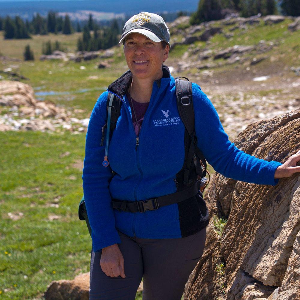 Geologist and paleontologist Kelli Trujillo