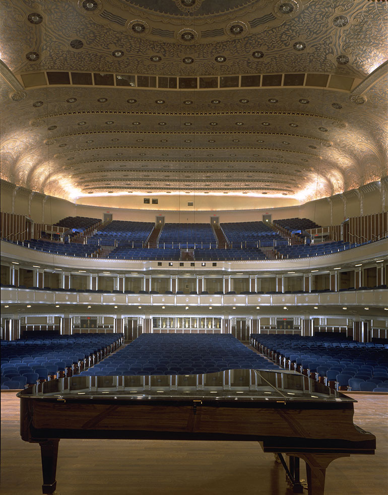 Severance Hall, view from stage