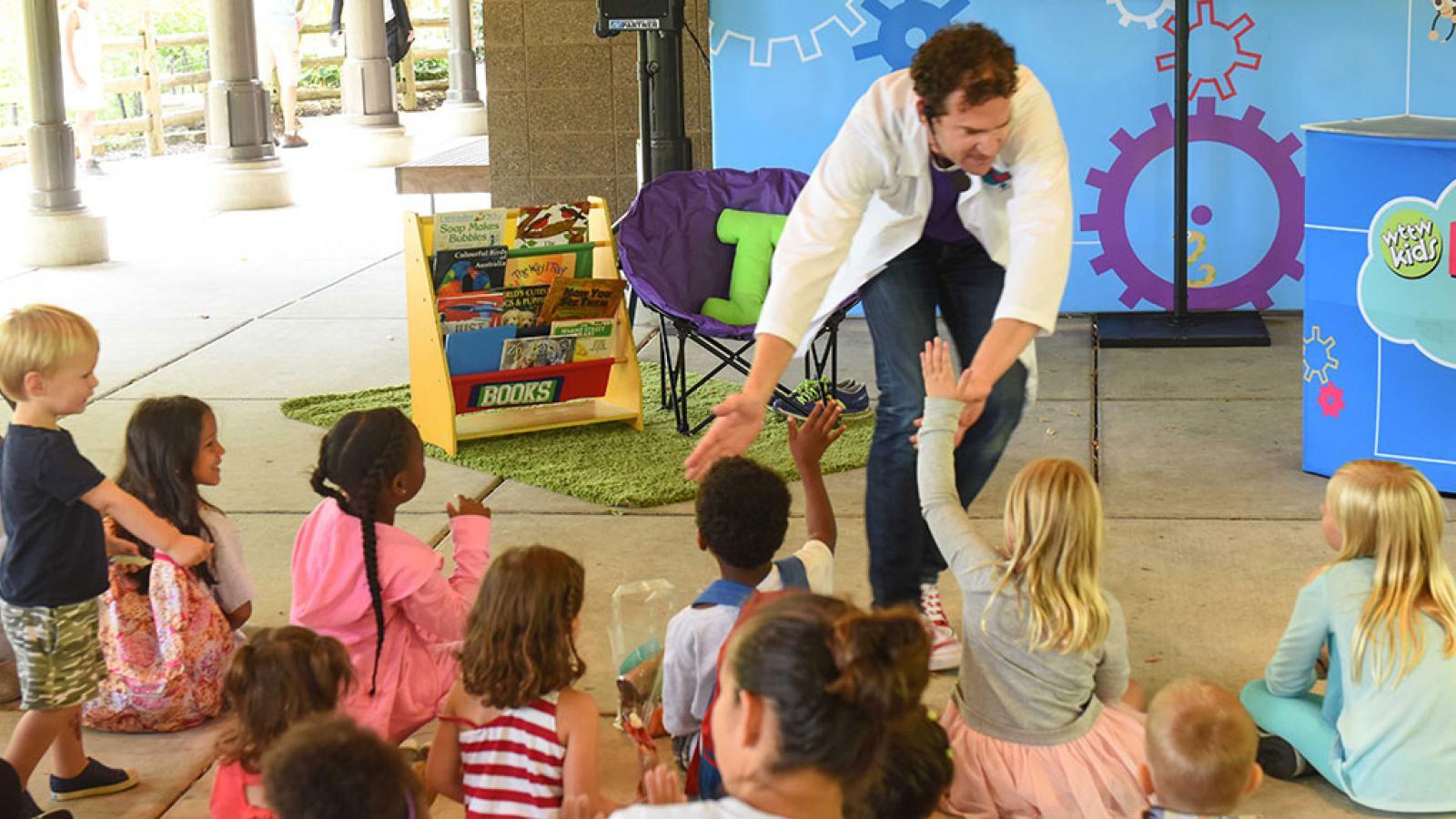 WTTW Kids Big Idea Traveling Lab — Matteson