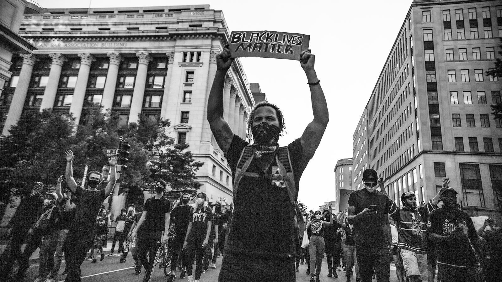 Black Lives Matter Protest - Washington, DC. Photo by Yash Mori