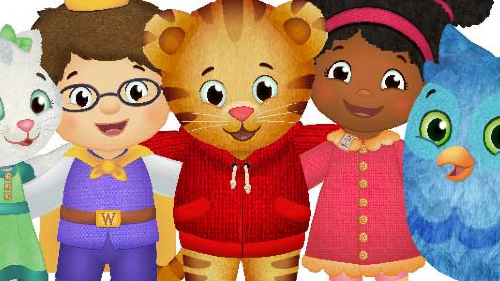 """Be My Neighbor Day"""" with Daniel Tiger and Katerina Kittycat 