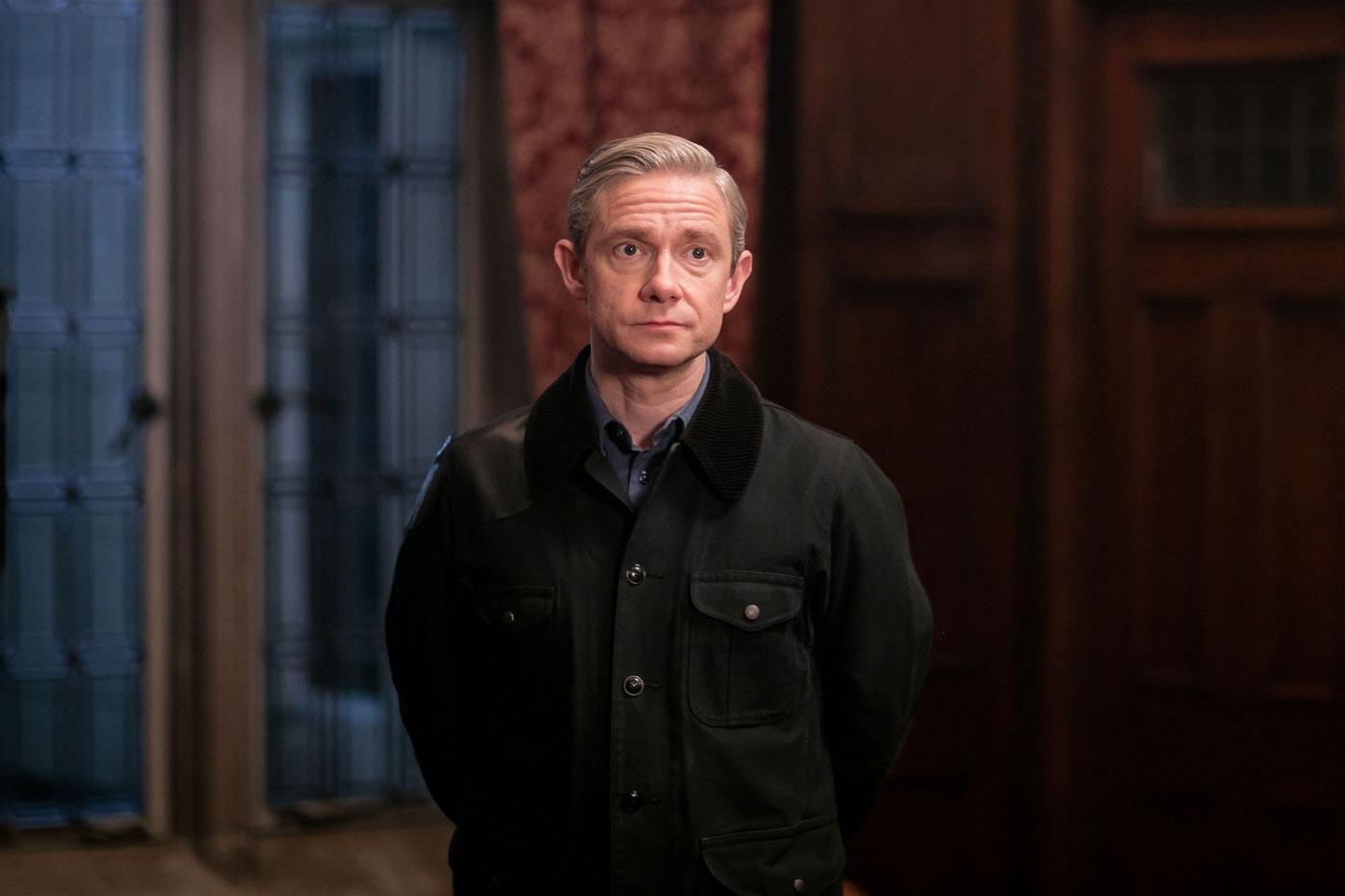 Martin Freeman as John Watson. (Laurence Cendrowicz/Hartswood Films & MASTERPIECE)