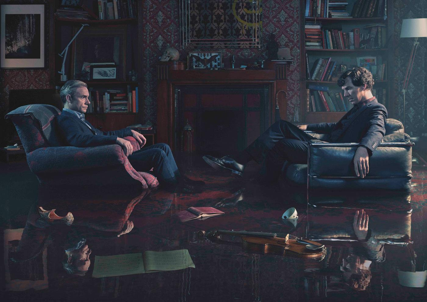 The finale of Sherlock approaches; it's not a game anymore. (Todd Antony/Hartswood Films & MASTERPIECE)