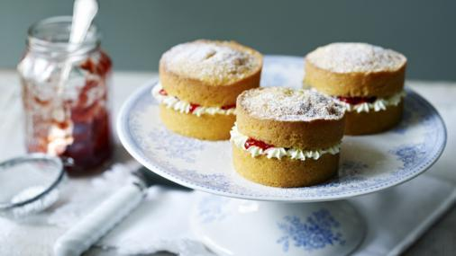 The Great British Baking Show Angel Food Cake Recipe