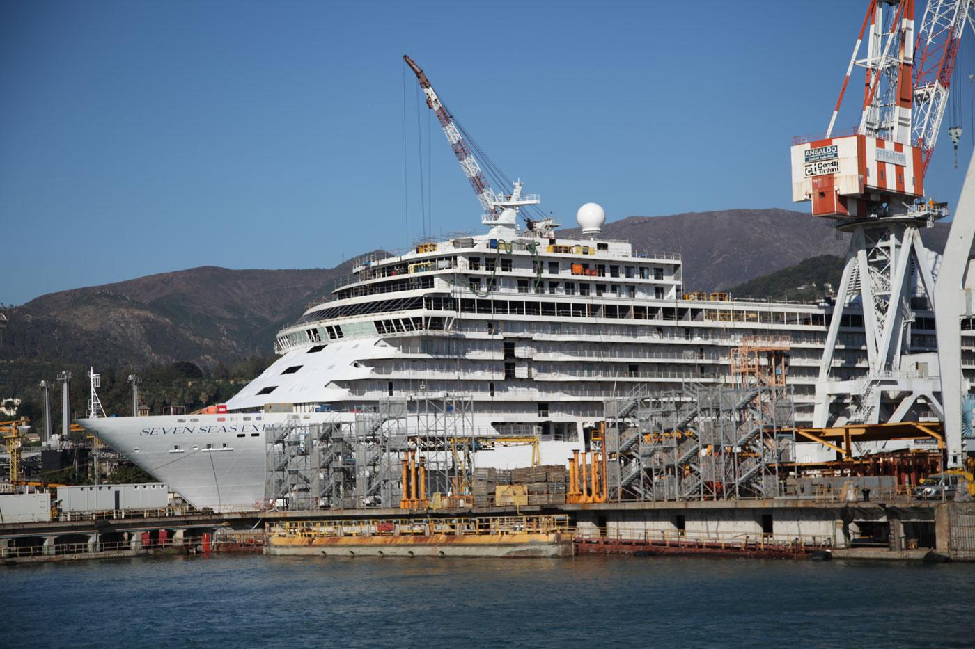 the extravagant features of a luxury cruise ship wttw chicago