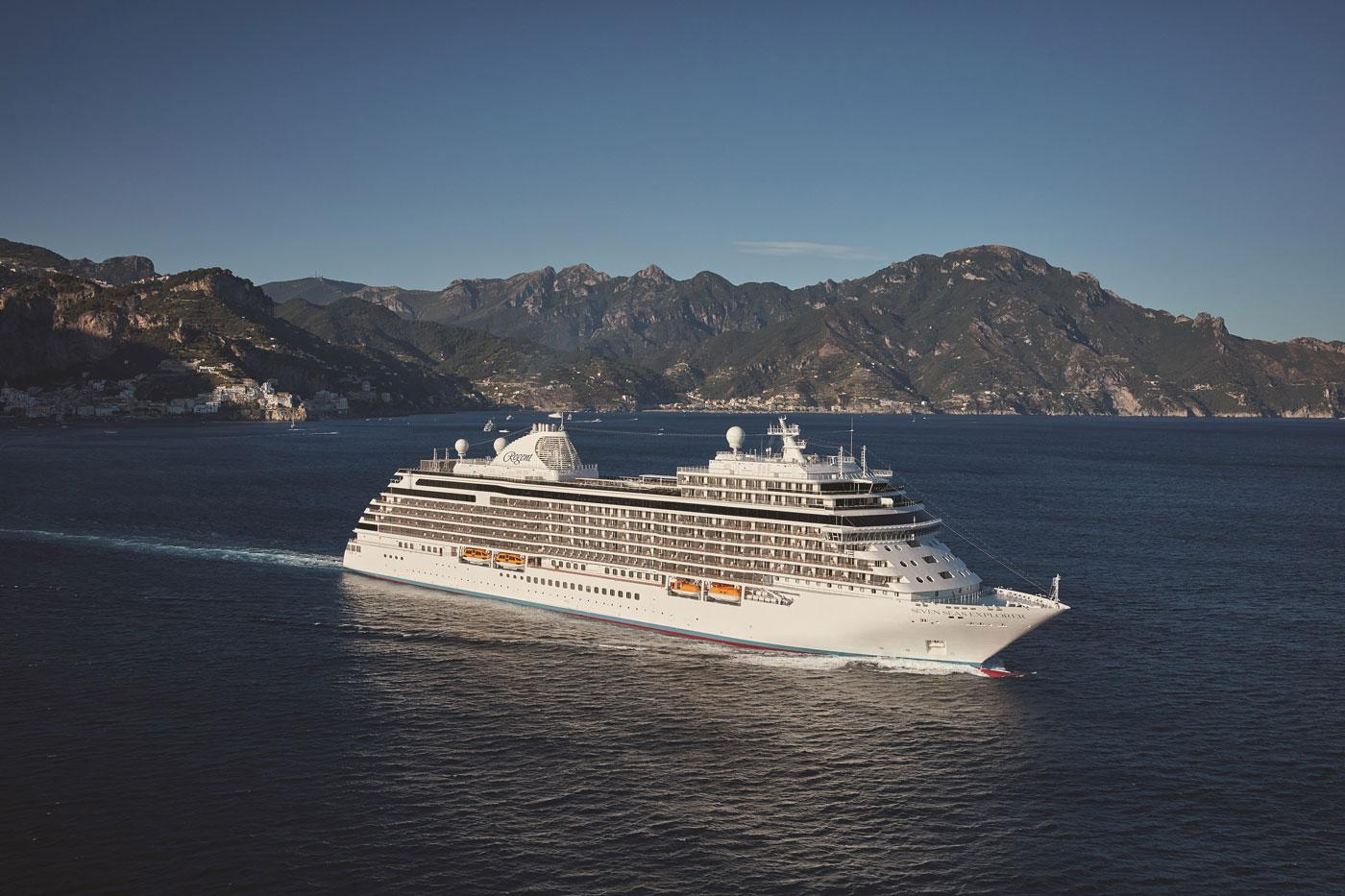 The Regent Seven Seas Explorer. (Courtesy of Martin Gorst)