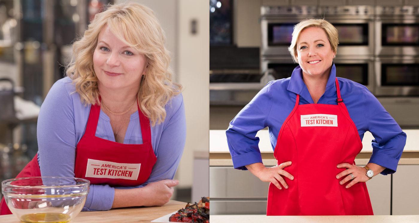 Bridget Lancaster And Julia Collin Davison. (Courtesy Of Americau0027s Test  Kitchen)
