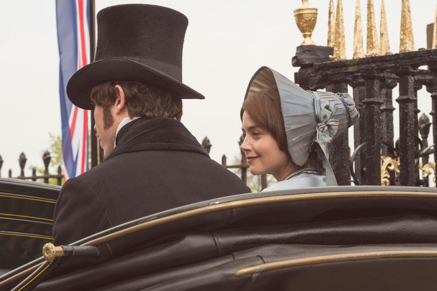 Albert and Victoria on a carriage ride. (ITV Plc)