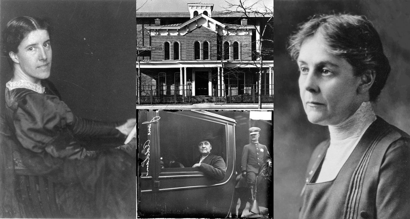 Charlotte Perkins Gilman, Hull House, Alice Hamilton, Jane Addams.