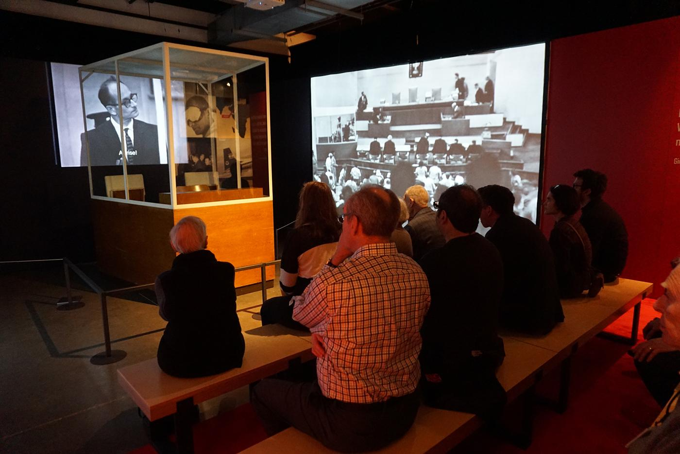 """""""Operation Finale: The Capture and Trial of Adolf Eichmann"""" at the Illinois Holocaust Museum. (Ron Gould Studios)"""