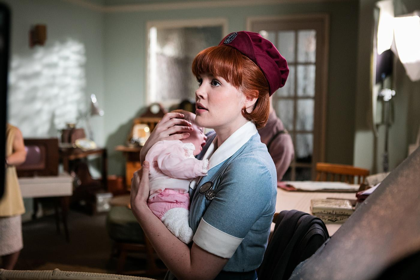 Emerald Fennell as Patsy Mount in 'Call the Midwife.' Photo: Neal Street Productions 2016