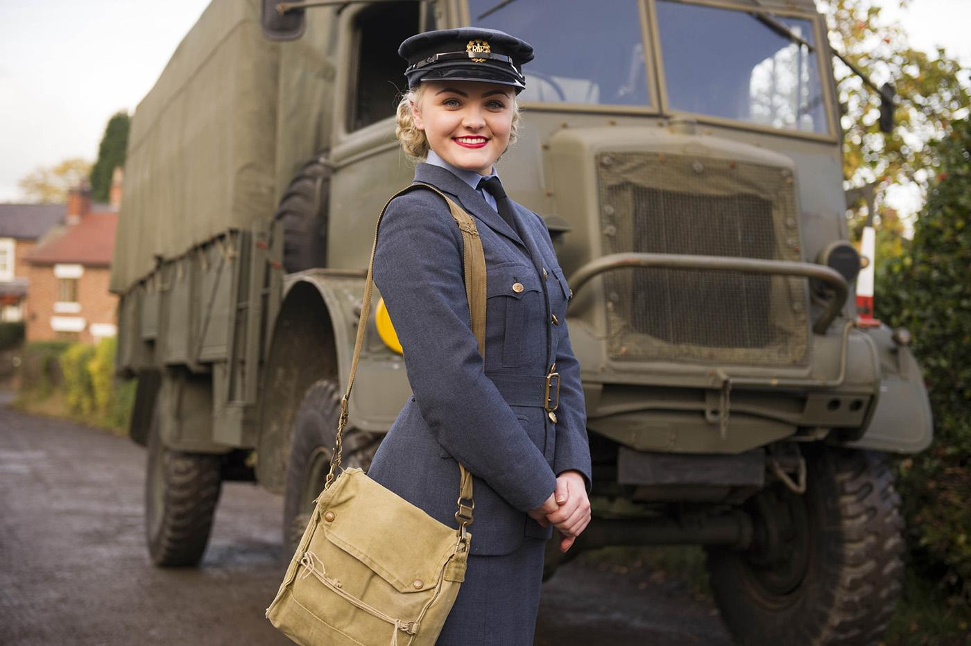 Jodie Hamblett as Jenny in 'Home Fires.' Photo: iTV and MASTERPIECE