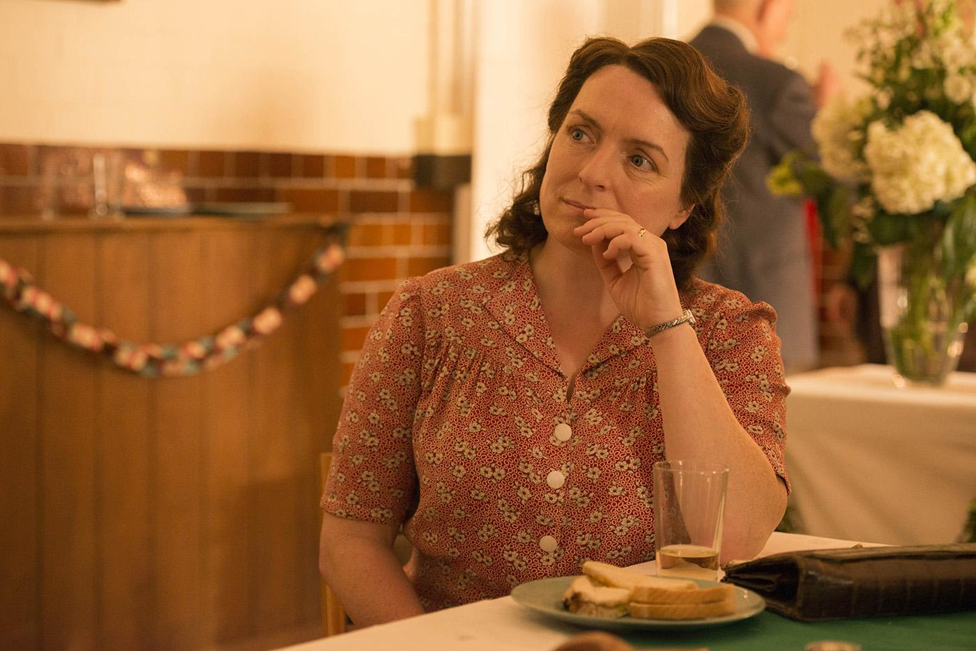 Claire Rushbrook as Pat Simms in 'Home Fires.' Photo: iTV Studios and MASTERPIECE