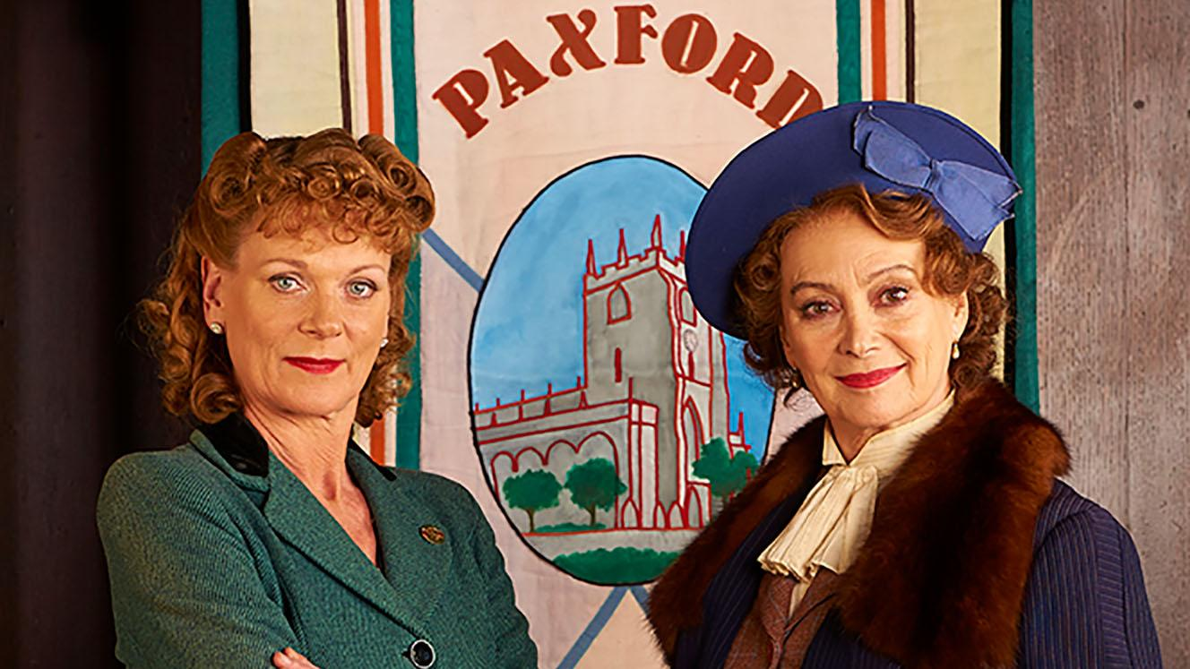 Frances Barden and Joyce Cameron in 'Home Fires.' Photo: ITV Studios for MASTERPIECE