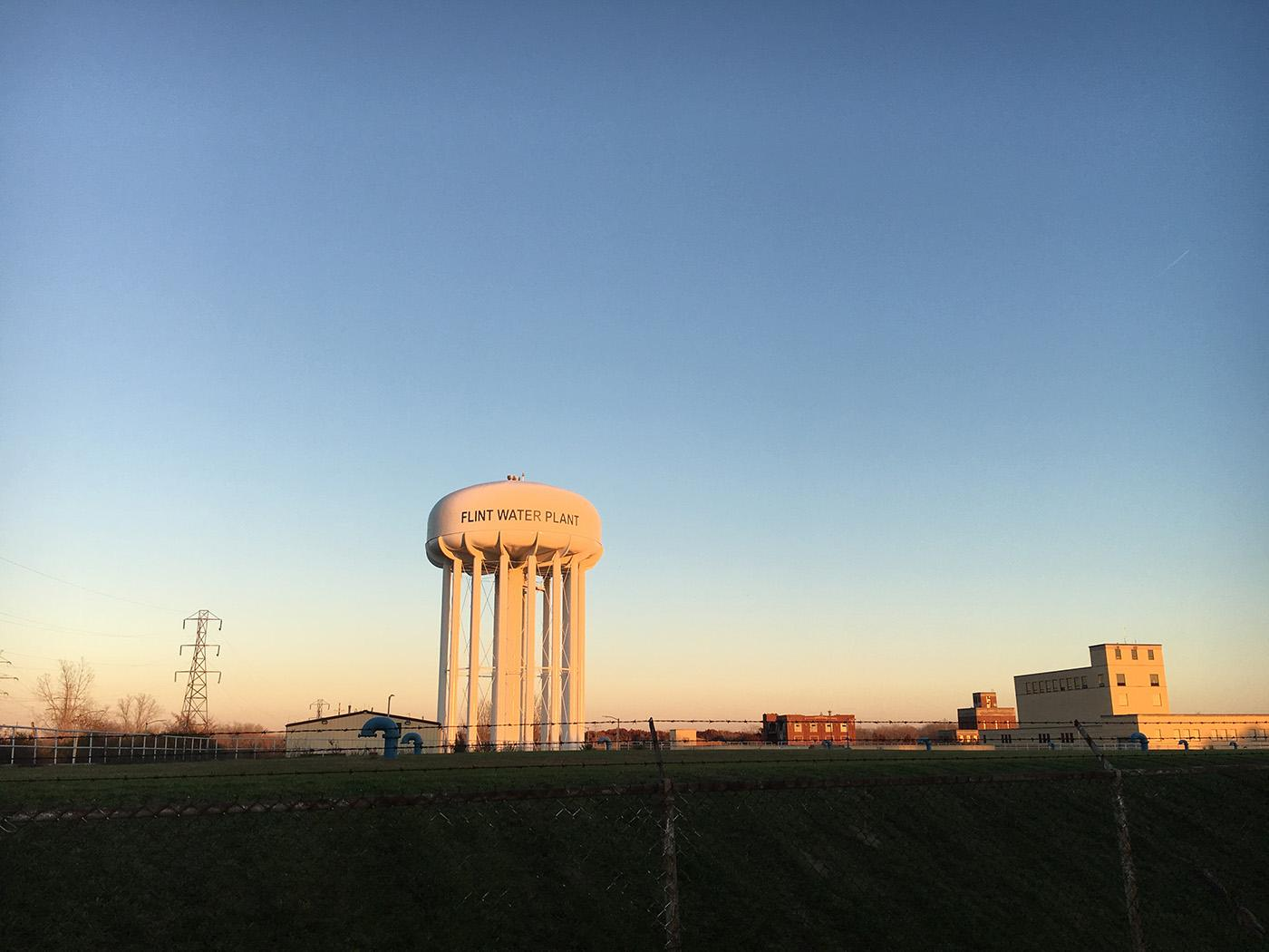 The water treatment plant in Flint, Michigan. Photo: Caitlin Saks/WGBH