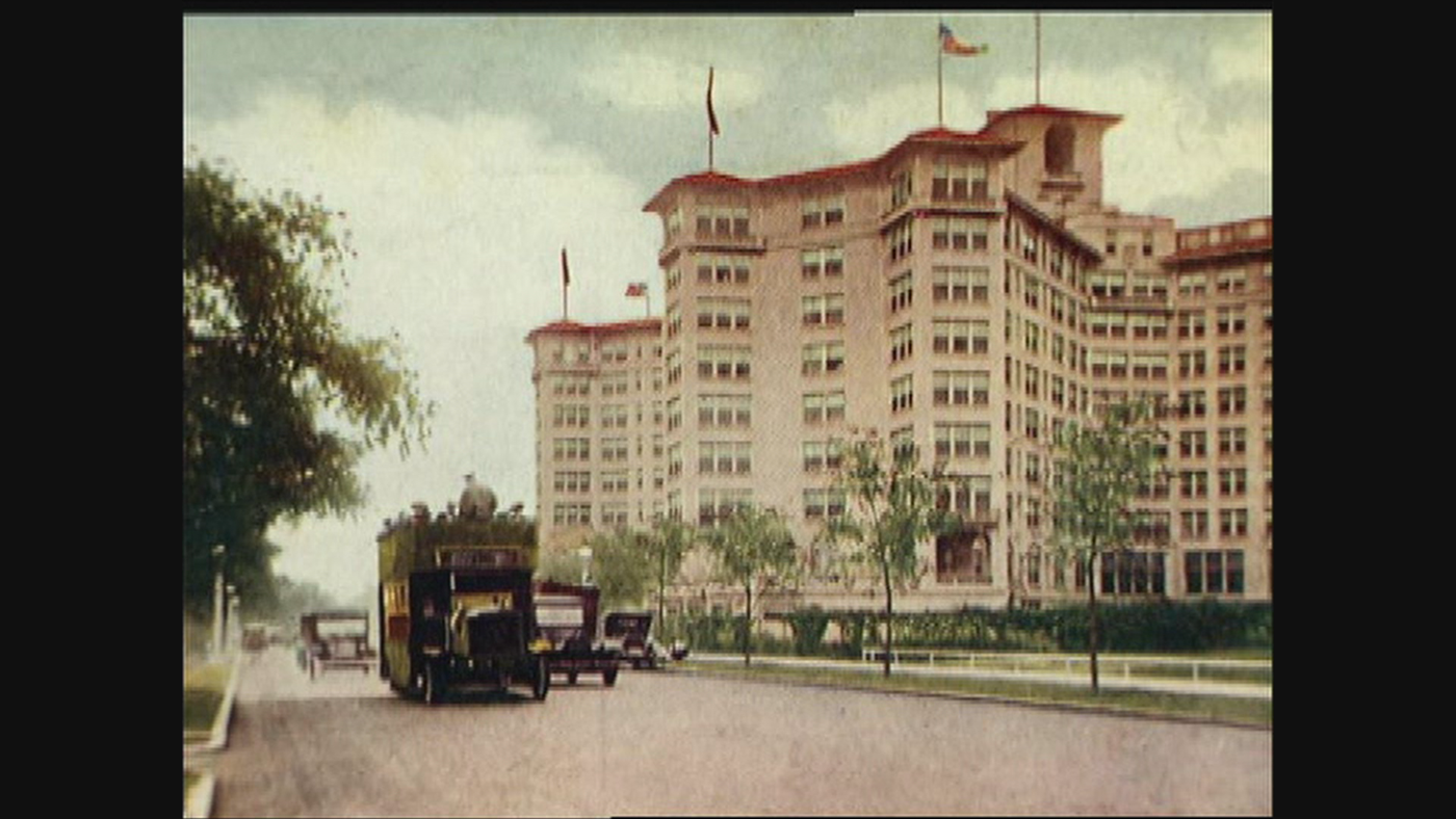 The Edgewater Beach Hotel.