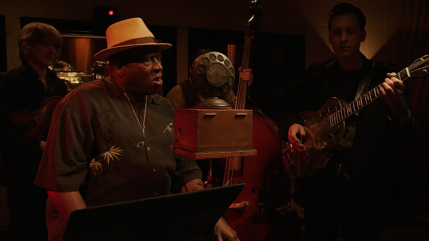 "Taj Mahal in ""The American Epic Sessions.' Photo: ©2017 Lo-Max Records Ltd."