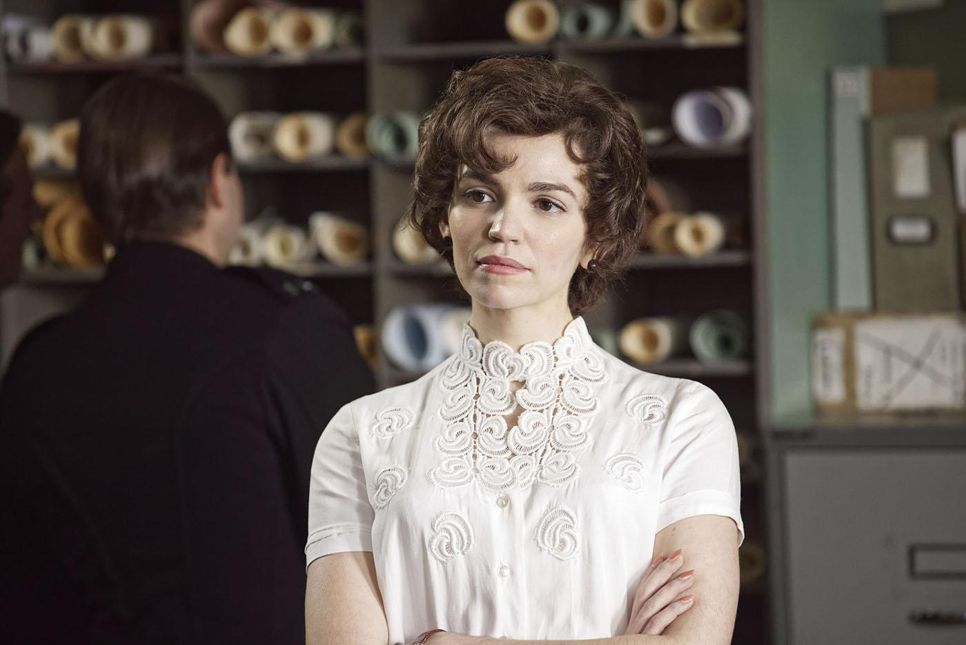 Seline Hizli as Margaret in Grantchester. Photo: ITV for MASTERPIECE
