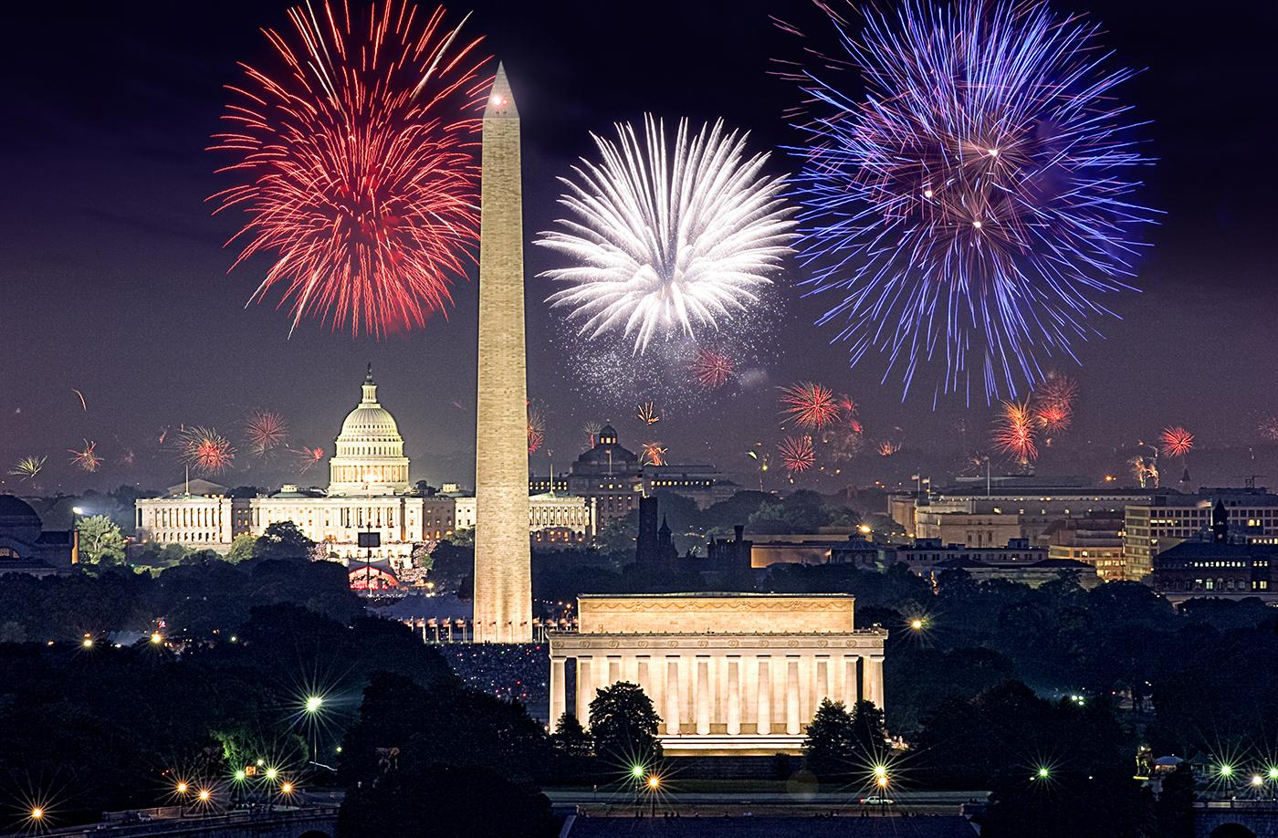 A Capitol Fourth with fireworks. Photo: Capital Concerts/Keith Lamond via Shutterstock
