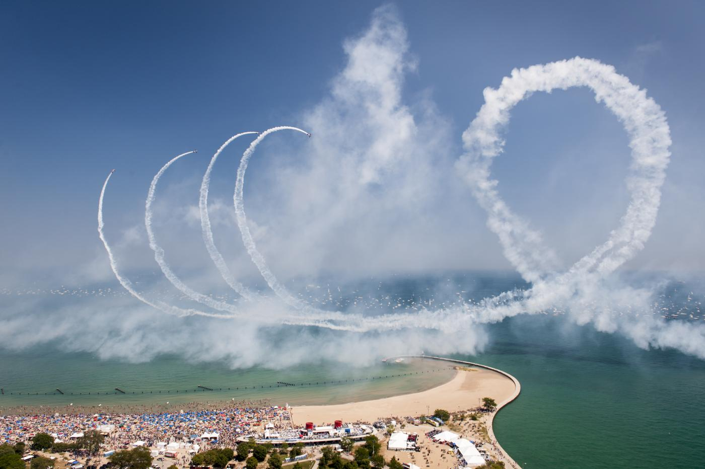 The Chicago Air and Water Show. Photo: City of Chicago, DCASE