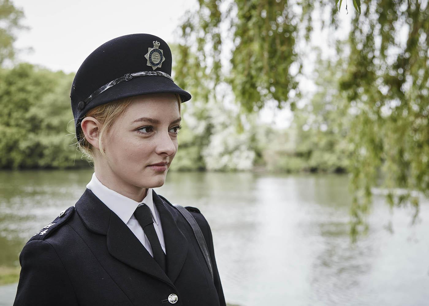 Shirley Trewlove in Endeavour. Photo: ITV Plc and Masterpiece