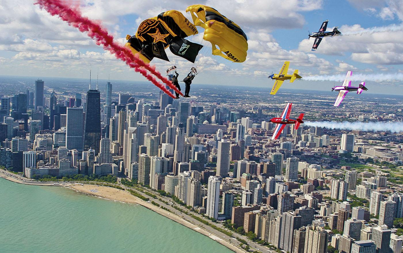 Golden Knights. Photo: City of Chicago, DCASE