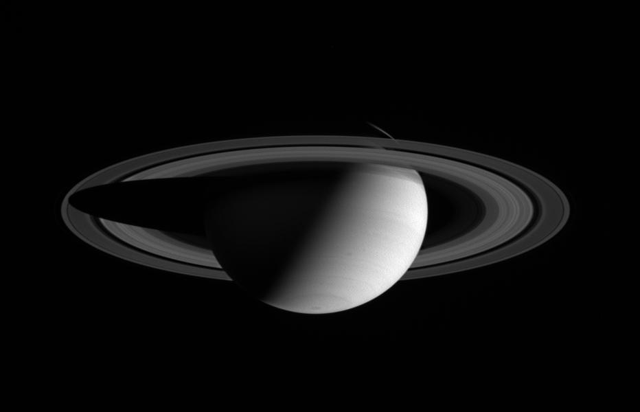 Saturn. Image: Courtesy NASA