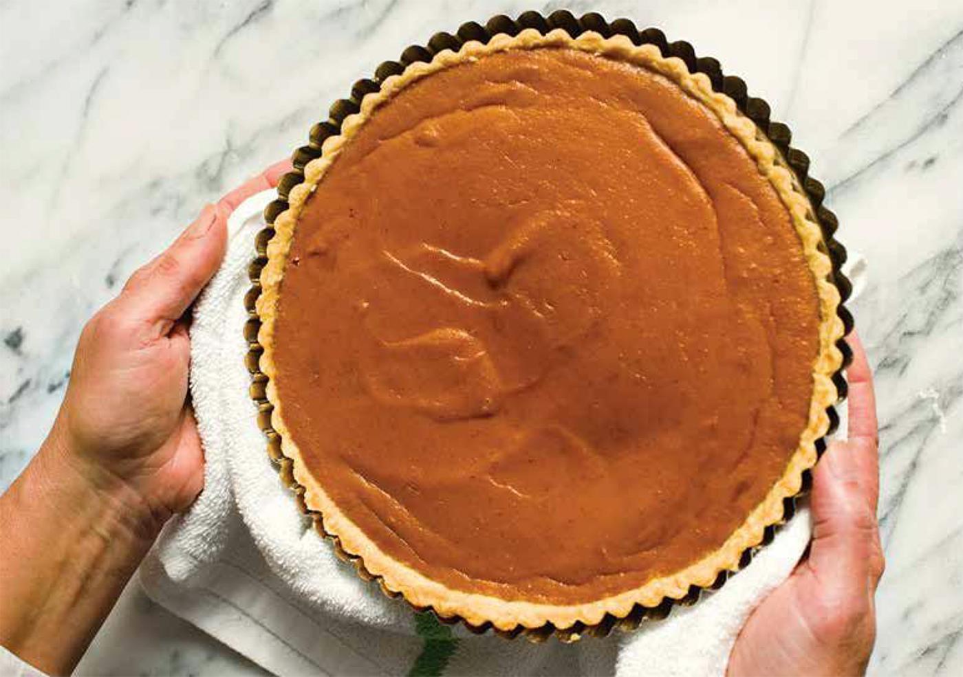 Pumpkin Tart. Photo: Courtesy Milk Street