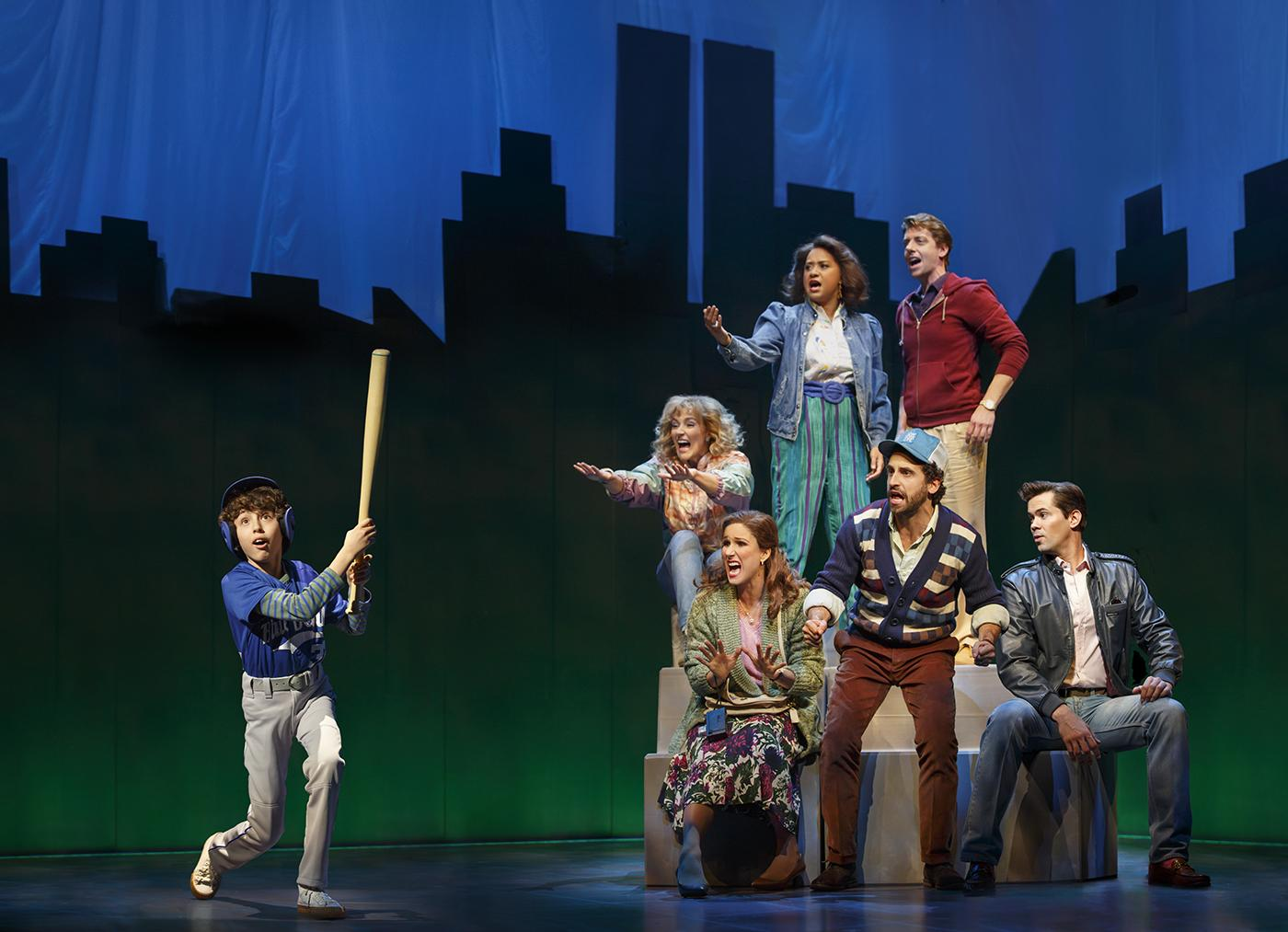 "The cast of 'Falsettos."" Photo: Joan Marcus"