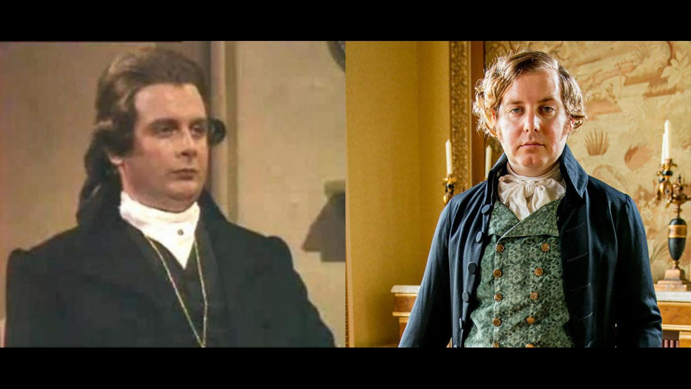 Reverend Osborne Whitworth in 'Poldark.'