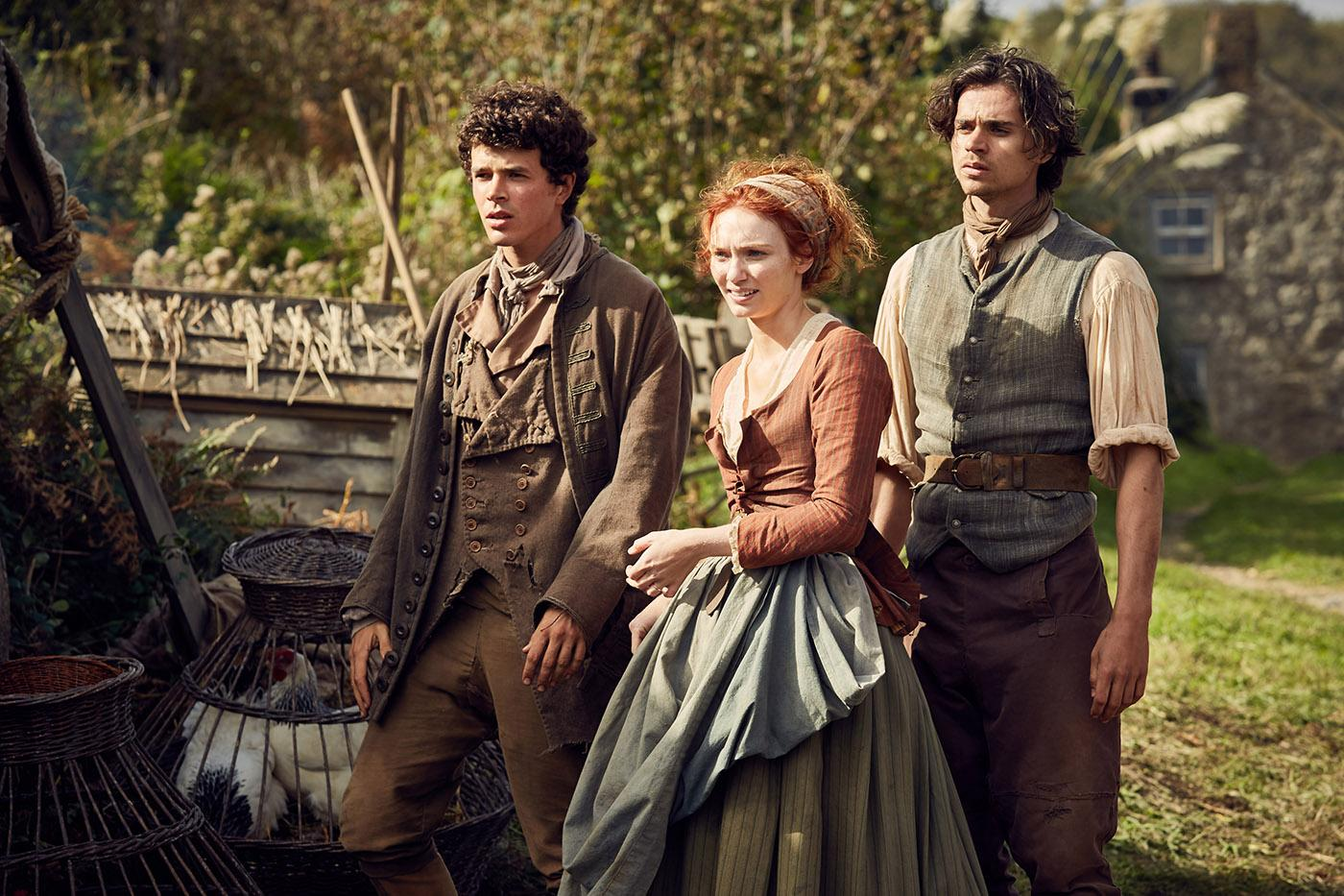 Poldark. Photo: Robert Viglasky/Mammoth Screen for BBC and MASTERPIECE