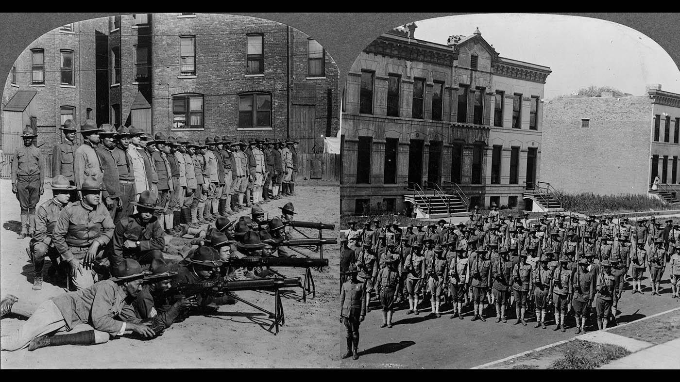The 8th Infantry Regiment of the Illinois National Guard