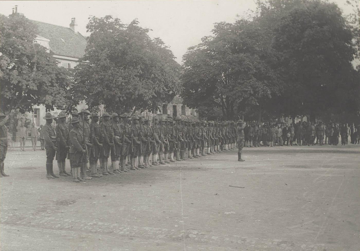 The 370th Infantry Regiment in France