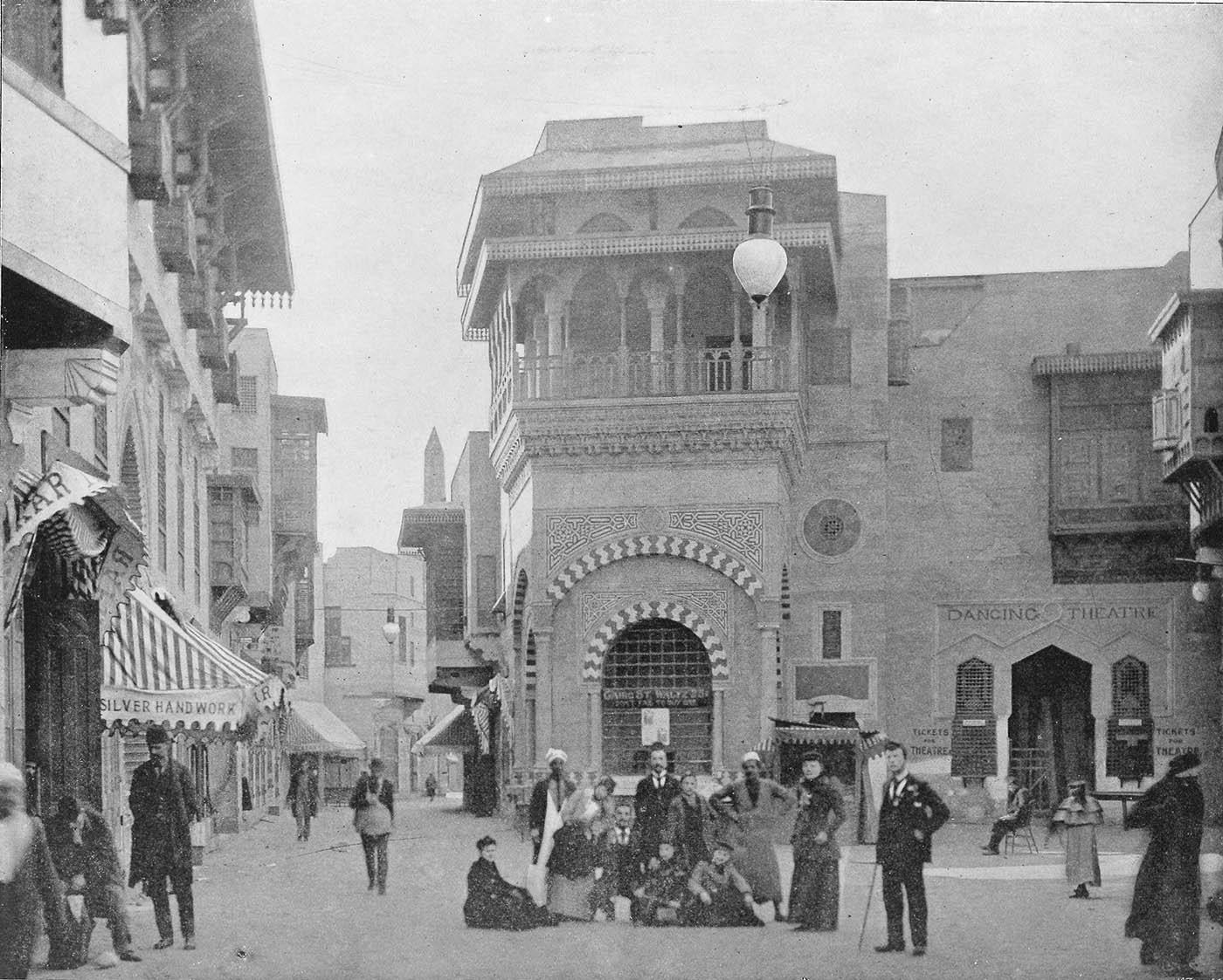 "The ""Streets of Cairo"" on the Midway at the 1893 World's Columbian Exposition in Chicago"