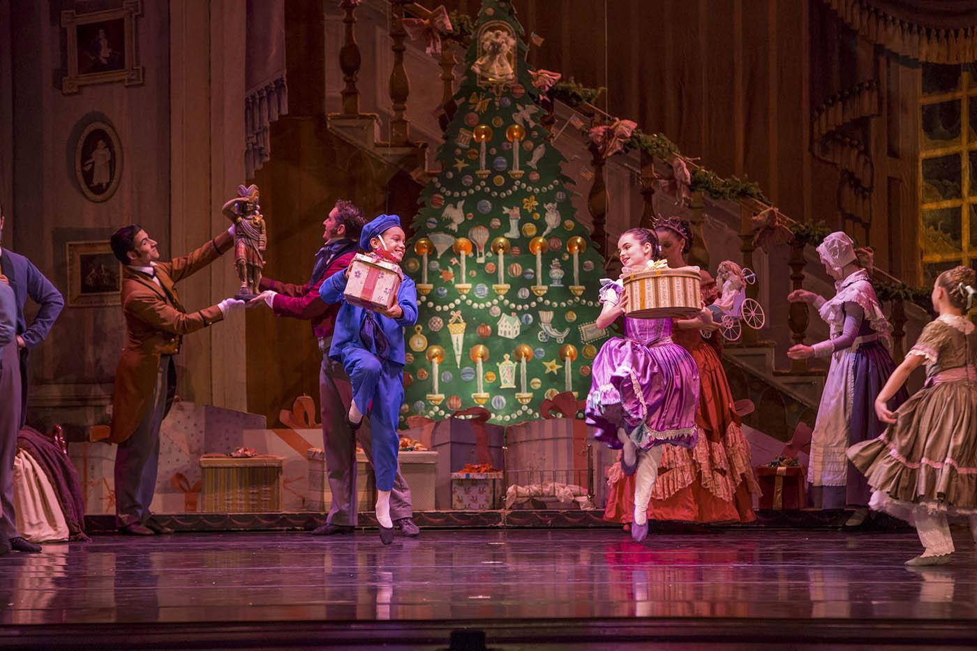 The Joffrey Ballet's Nutcracker. Photo: Cheryl Mann