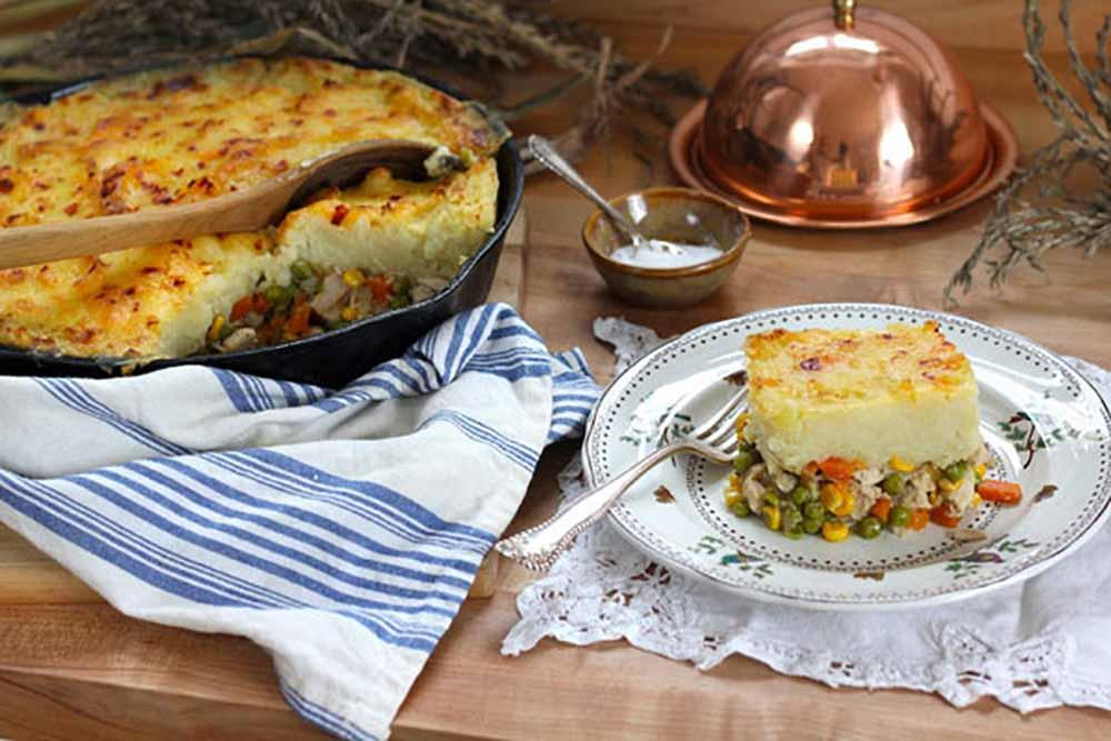 Thanksgiving Leftovers Shepherd's Pie. Photo: Courtesy PBS Food