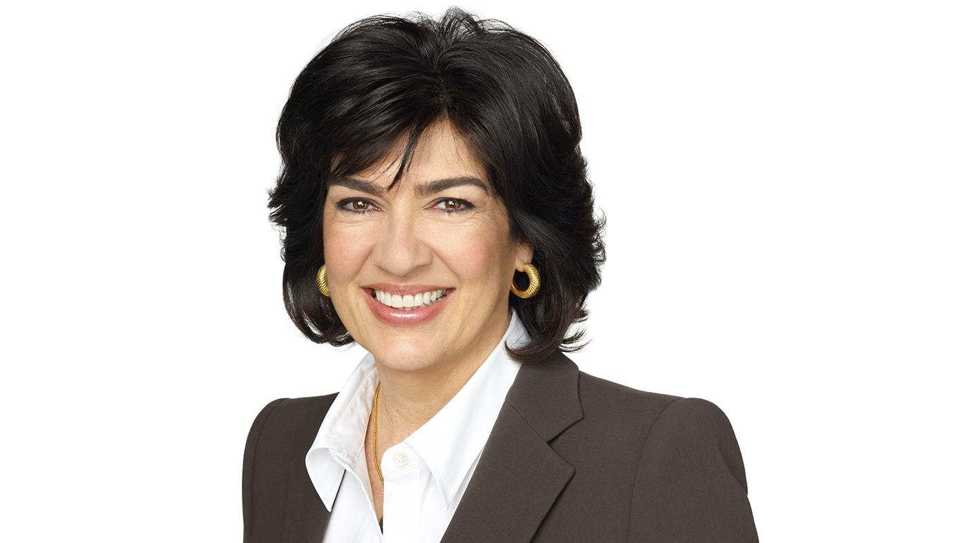 Christiane Amanpour. Photo: Courtesy CNN International