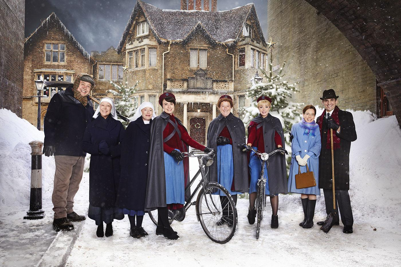 Call the Midwife holiday special. Photo: Neal Street Productions 2017